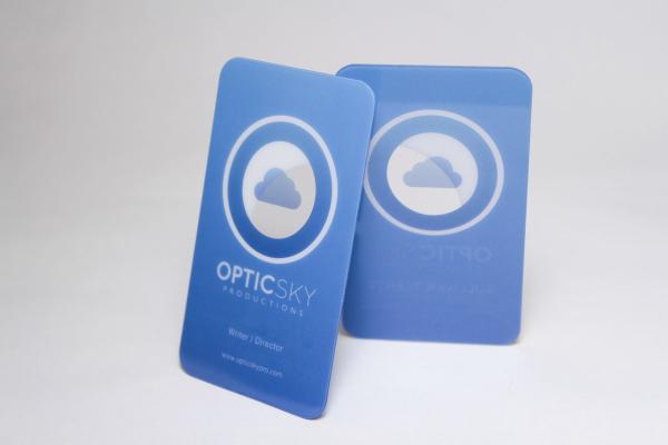 Translucent Business Card Printing Sample (Photo)