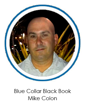 Rugged, Tough and Unique Business Cards: Blue Collar Black Book