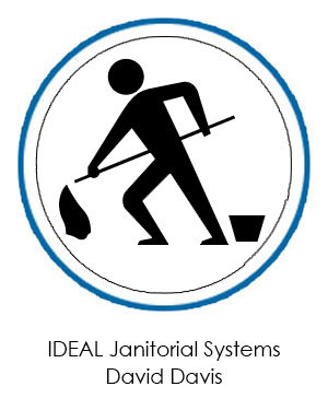 IDEAL Janitorial System's Flawless Plastic Frosted Business Cards