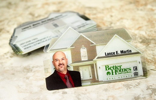 The top 20 unique realtor plastic business cards house shaped business card reheart Images