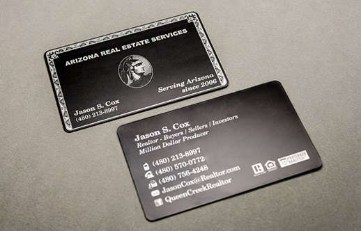 real estate business cards ideas