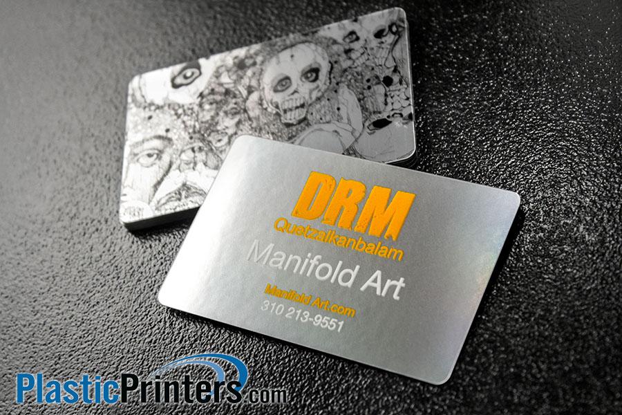 Top 10 Premium Platinum Plastic Business Cards