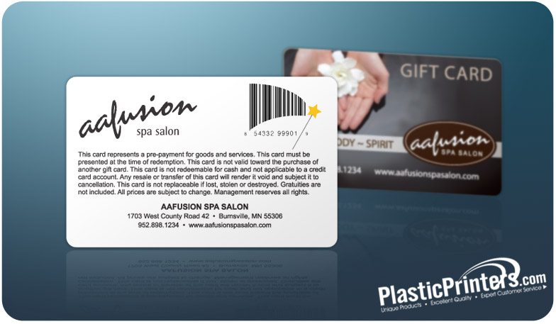 17 Creative Barcodes to Use on Plastic Gift Cards