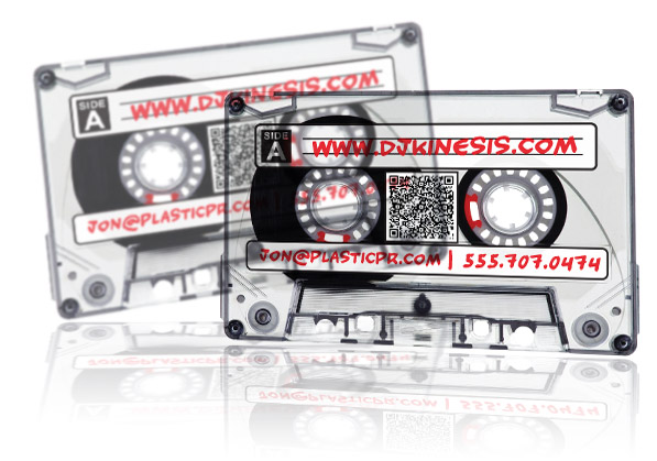Design inspiration blog plastic printers plastic business cards dj business cards creating promotional spin reheart Gallery
