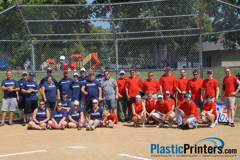 PlasticPrinters.com Company Softball Game