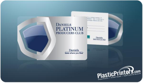 Plastic Printers  Membership Cards Design