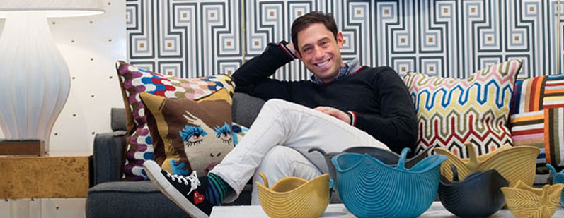 Behind Jonathan Adler's Stylish Plastic Gift Cards
