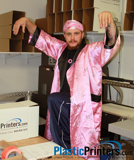 Shipping Guy goes CRAZY for Breast Cancer Awareness Month!!