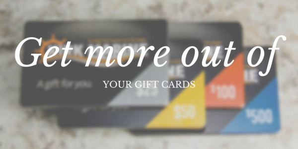 How to get more out of gift cards on Black Friday