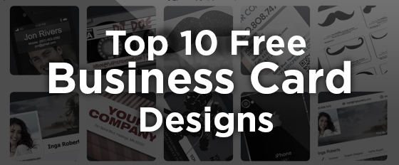 Top 10 free business card design templates of 2014 the top 10 free business card designs of 2014 accmission Choice Image