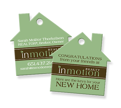 Top 10 real estate marketing ideas to the keys to each new car and this concept works great for realtors too by including a tag that reads something like the keys to your new home colourmoves