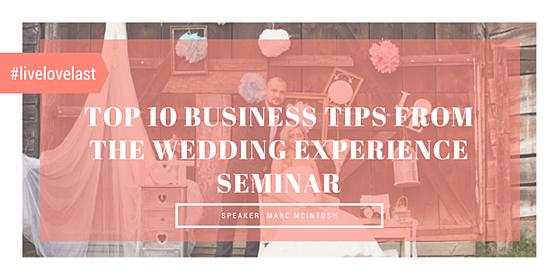 wedding, seminar, business, tips