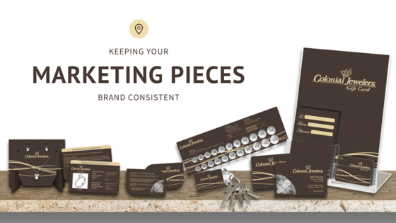 Keeping Your Marketing Pieces Brand Consistent