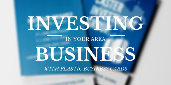 Buying Business Cards Is An Investment