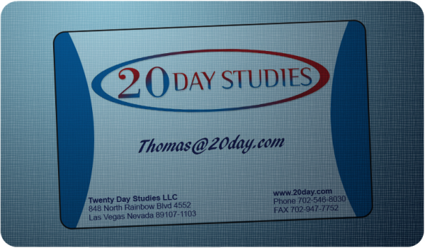TwentyDayStudies   card resized 600