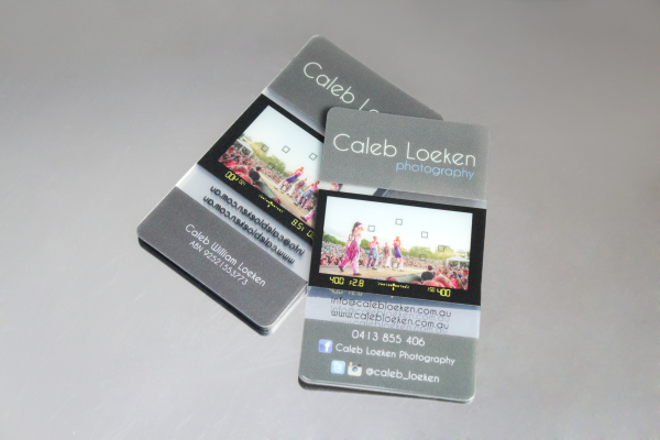 Photographer Business Cards That Click