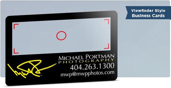 Camera Business Card Design For Photographers