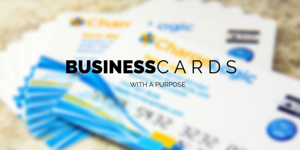 Embossed Credit Card Style Business Cards