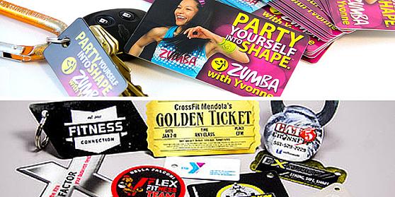 plastic, key tag, luggage tag, business, marketing, networking, school, backpack tag, equipment tag, IT, fitness, bridal, ID badge, name badge, membership
