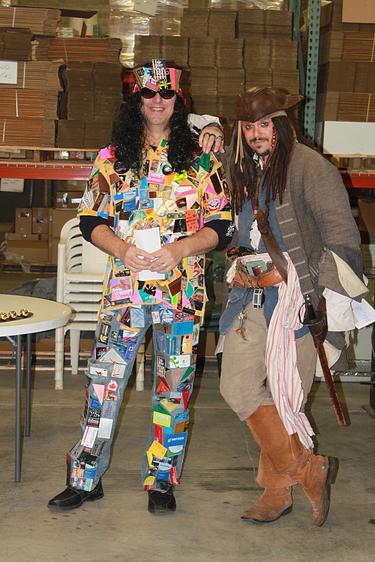 John the Plastic Printers Hippie and Captain Jack Sparrow