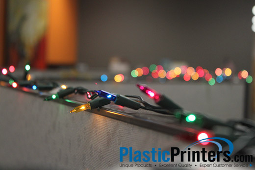 Christmas at the Plastic Printers Offices!