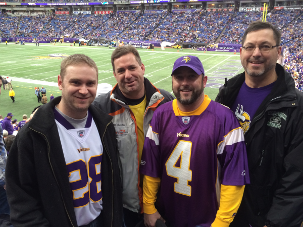 Last Vikings Game in the Metrodome here in Minnesota!