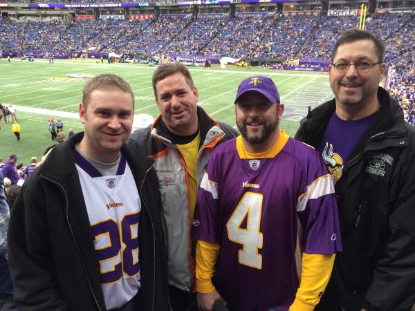 Last Vikings Game in the Metrodome here in Minnesota!