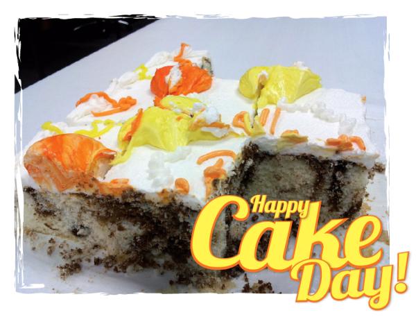 Cake Day at Plastic Printers