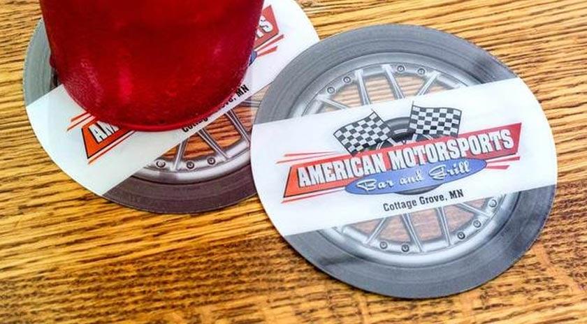 custom-bar-coaster-american-motorsports-wheel-shaped.jpg
