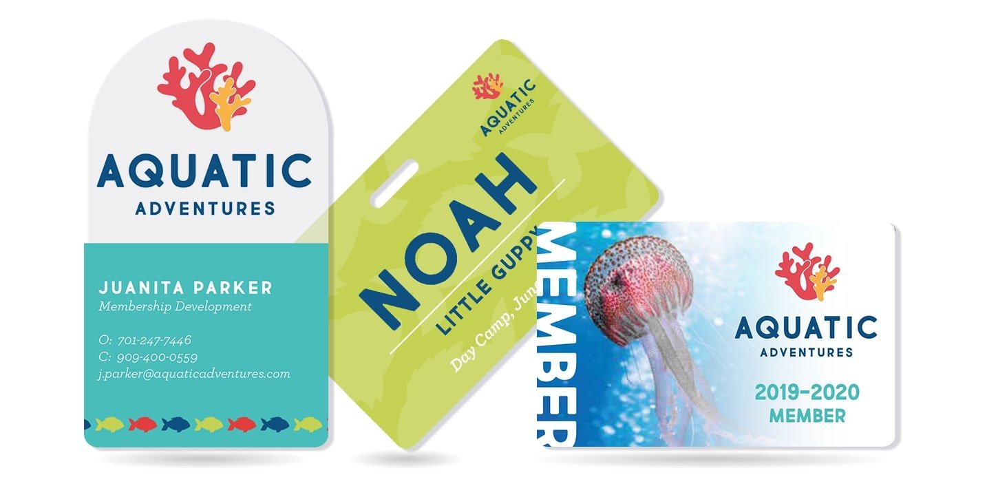 Boost your Aquarium Marketing with Business Cards, Membership Cards & More