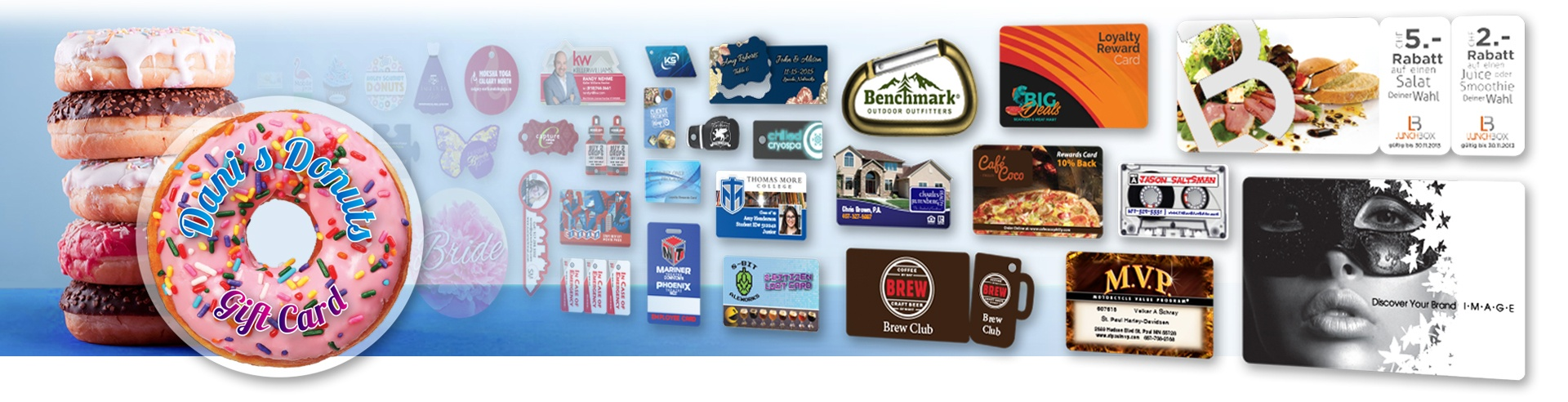 Create a high-impact first impression with plastic cards from Plastic Printers.