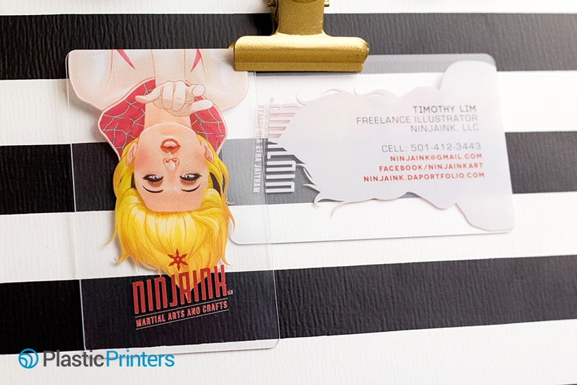 Graphic Designer Business Cards Example from Timothy Lim