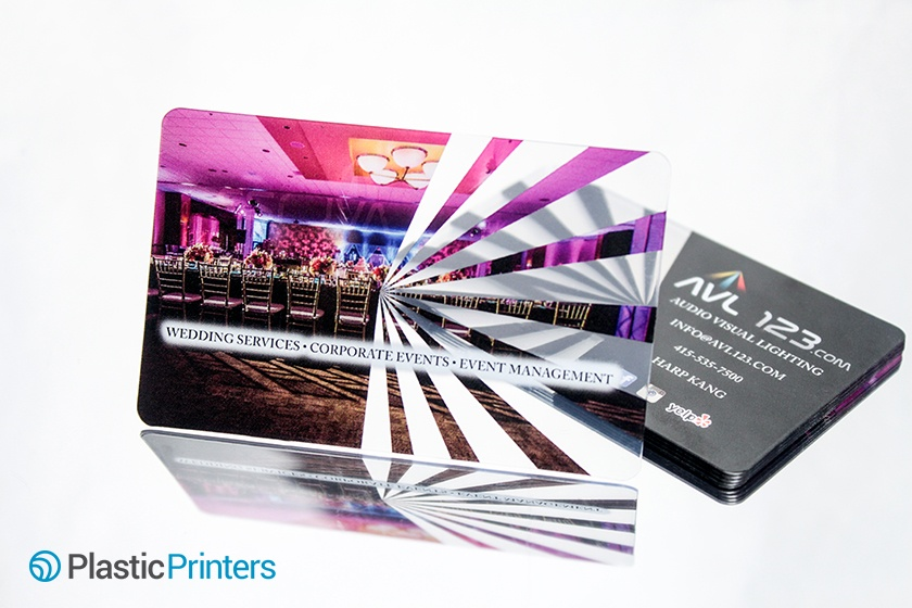 Event Planner Marketing Business Card Example