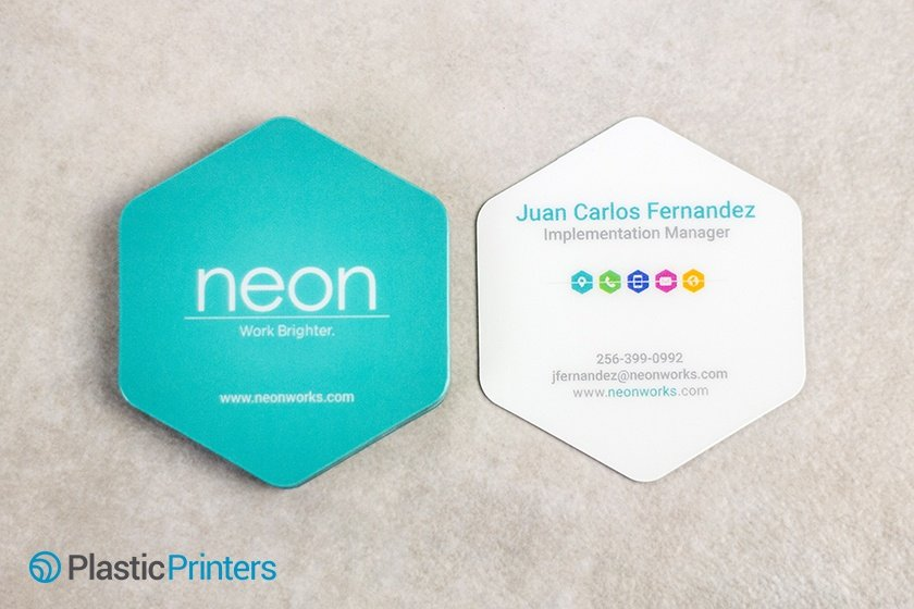 Unique Business Cards Example of Die Cut