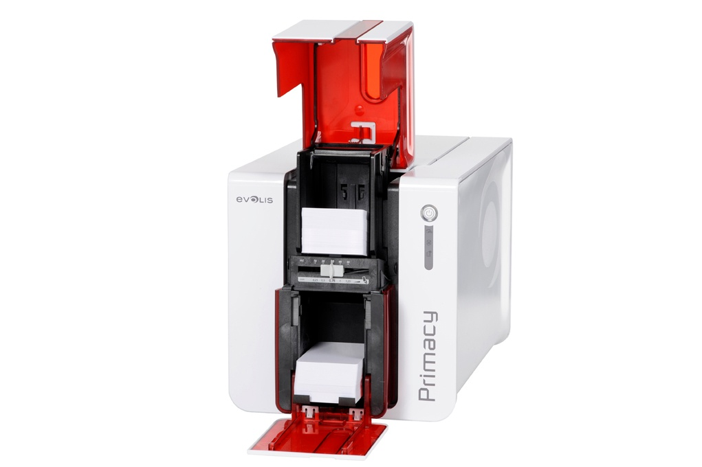 primacy Evolis plastic card printer