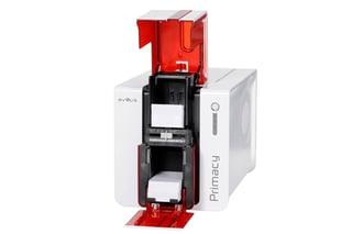 primacy Evolis plastic card printer
