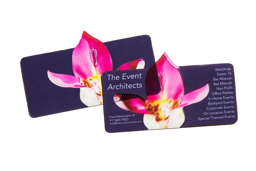 10 creative custom die cut cards custom flower die cut card reheart Gallery