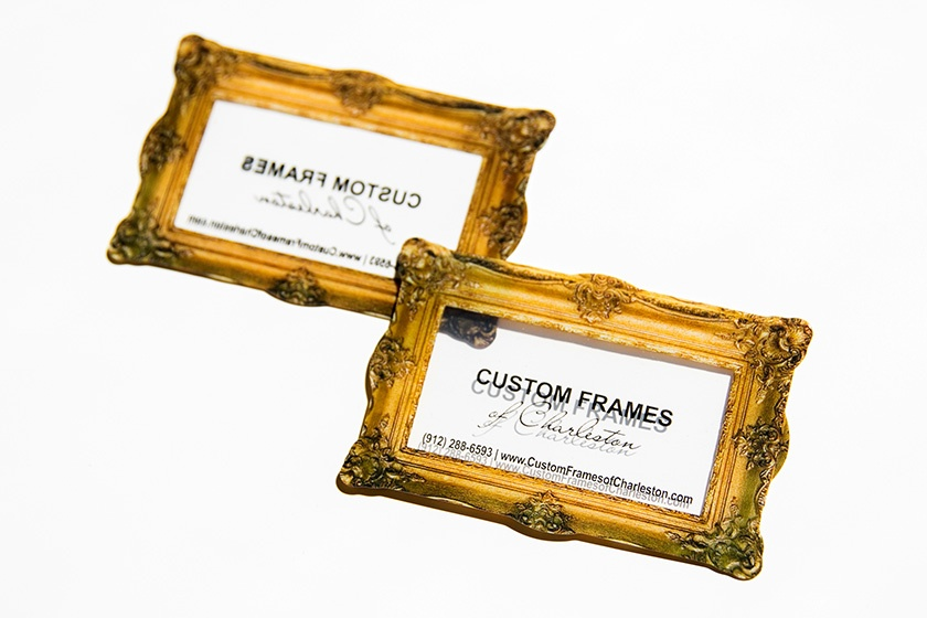 Photo Picture Frame Shaped Business Card