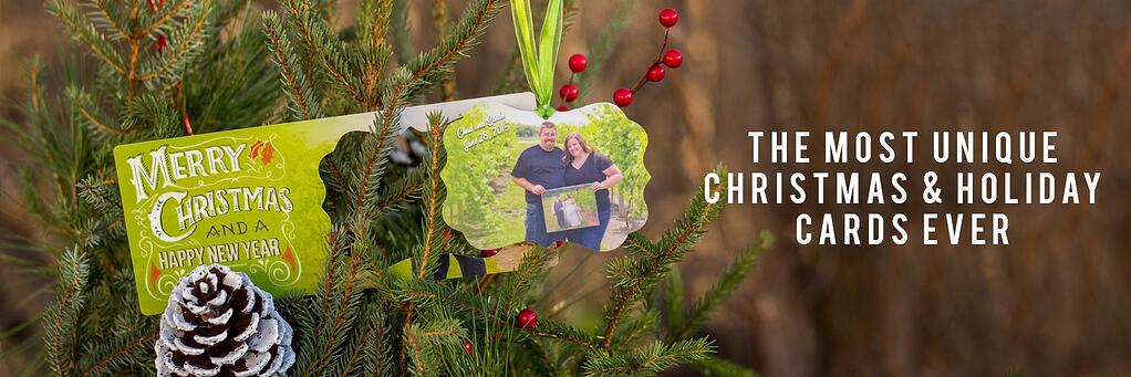 Ornament Pop Out Holiday Card