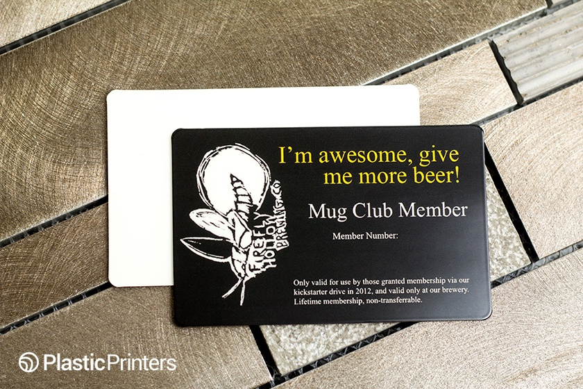 Brewery Membership Club Card