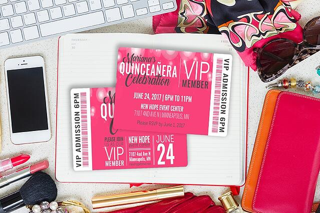 VIP Member Admission Card with Barcode
