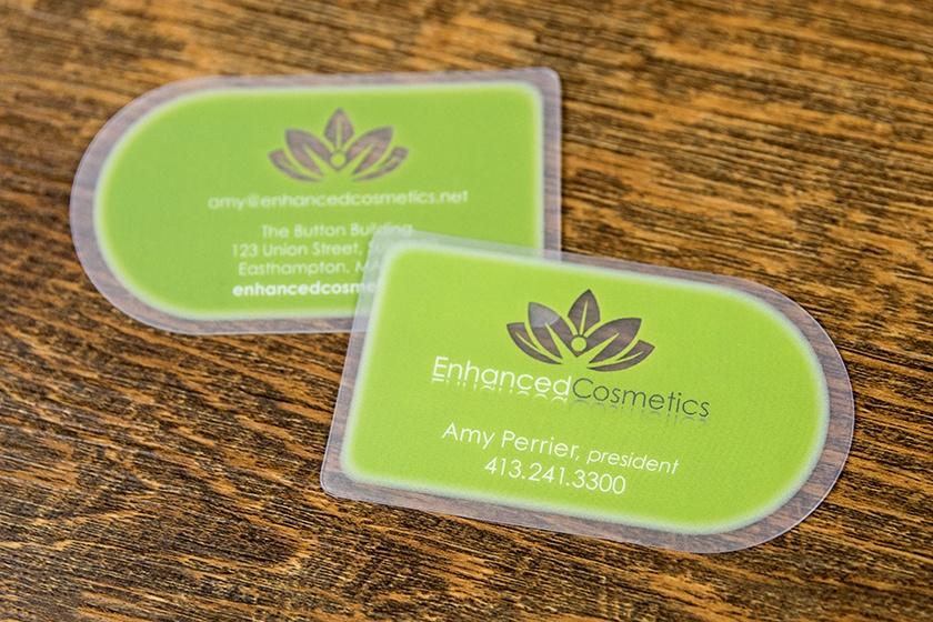 Business Card Satin Enhanced Cosmetics