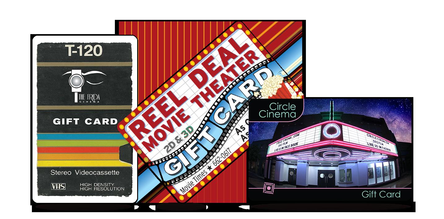 Cinema Gift cards