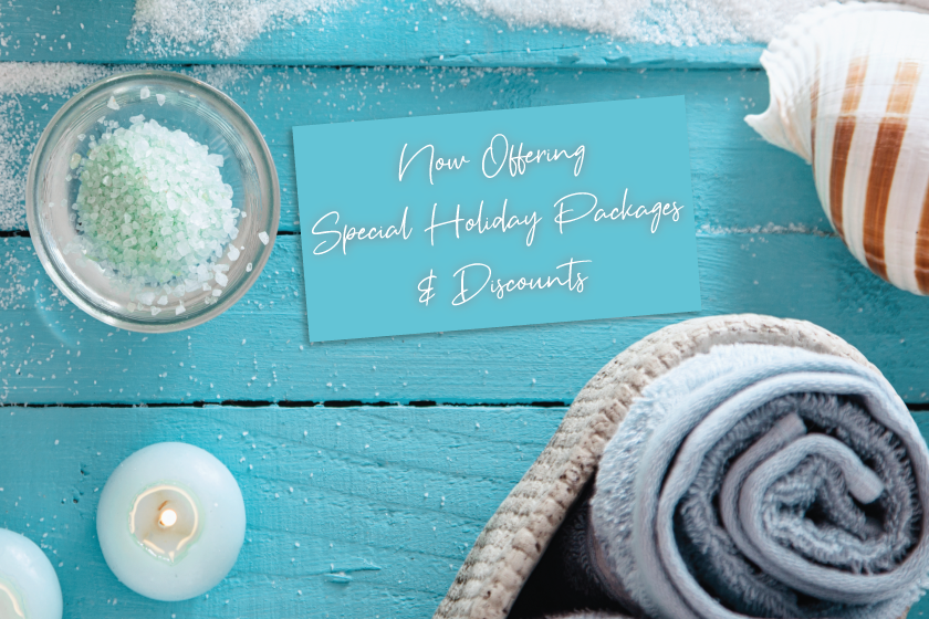 Enhance your holiday marketing with special discounts at your spa