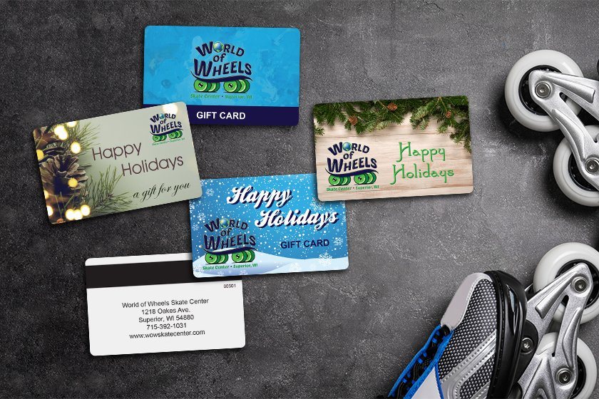 Holiday gift cards that are inclusive