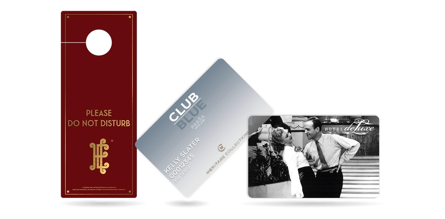 Hotel Gift Cards, Hotel Discount Cards & Do Not Disturb Door Hanger
