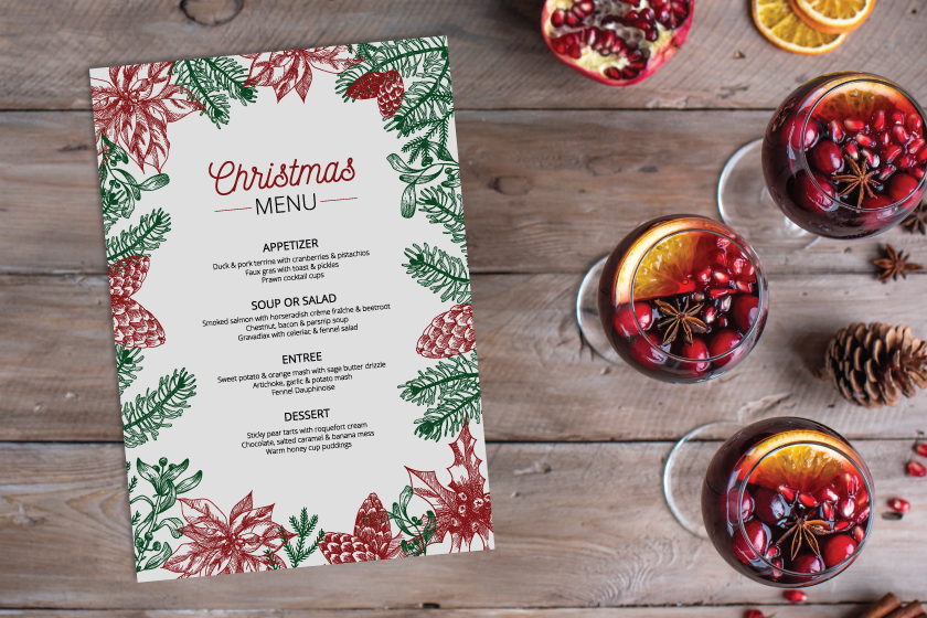 Holiday menus can boost your restaurant marketing