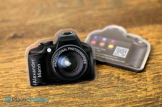 Cut Camera Plastic Card