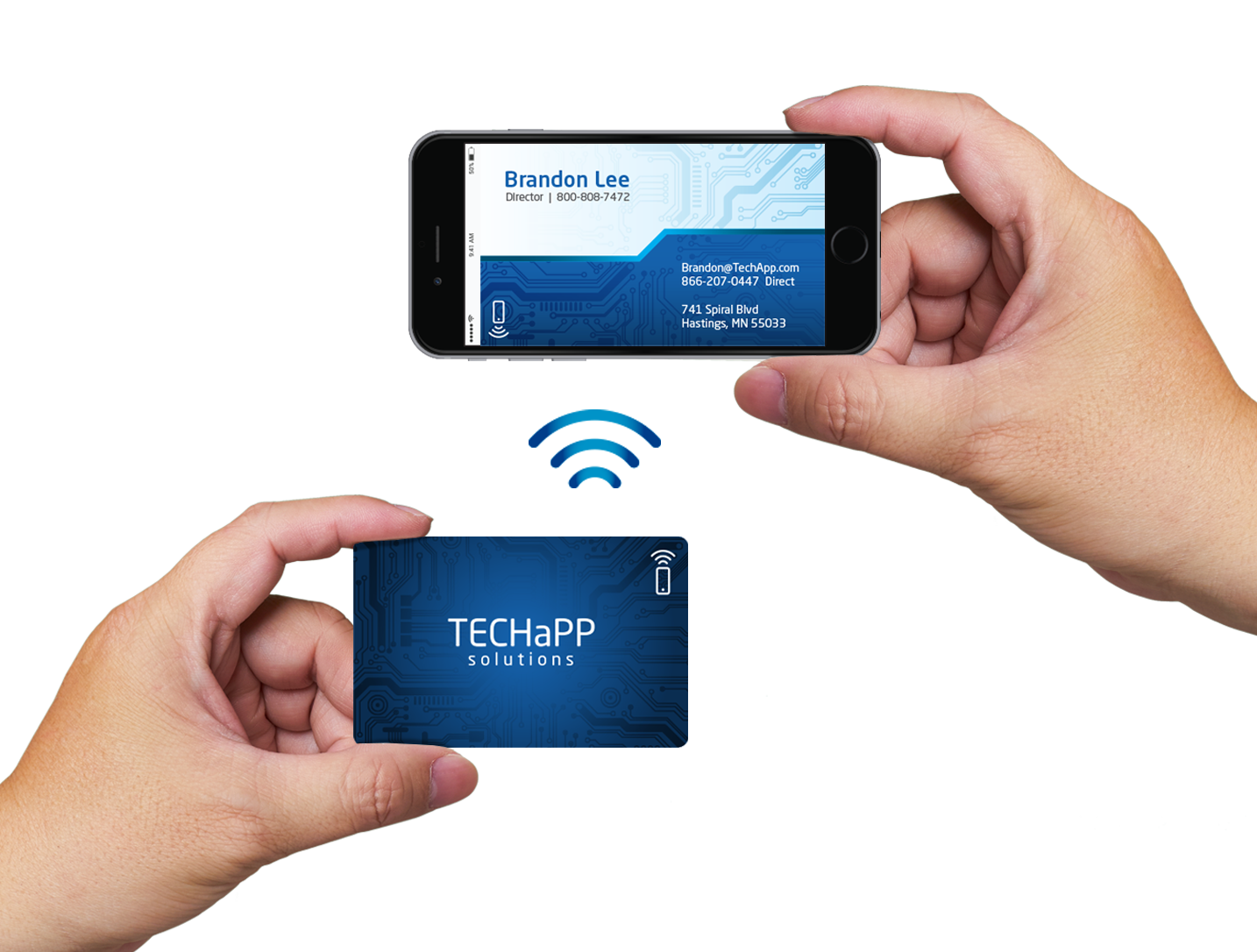 NFC business card