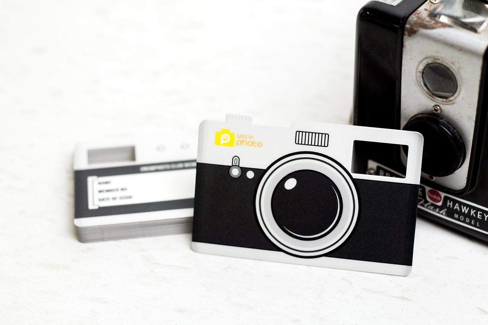 Custom Writable Photography Membership Card
